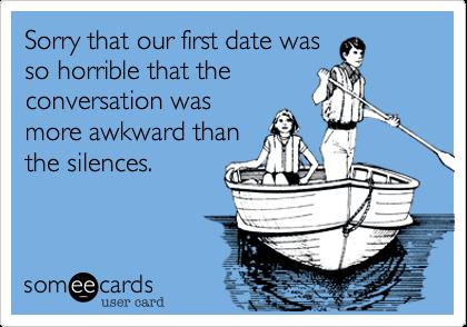 PSA: First DateConversation